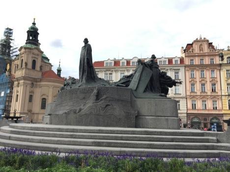 Statue of Jan Hus