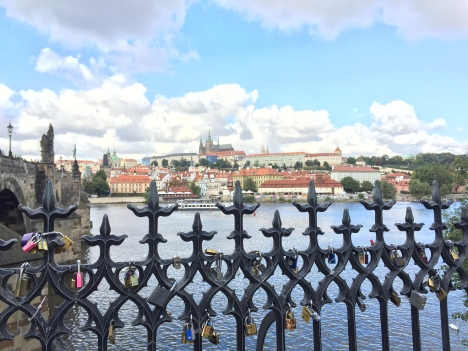 Lover's Lock by Charles Bridge