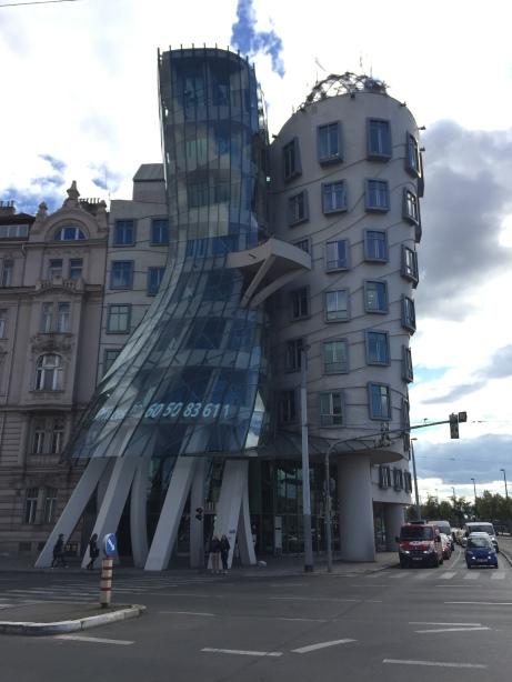 Frank Gehry's Dancing Building