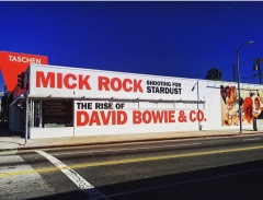 Mick Rick: Shooting fro stardust, the rise of David Bowie & Co at the Taschen Gallery in West Hollywood