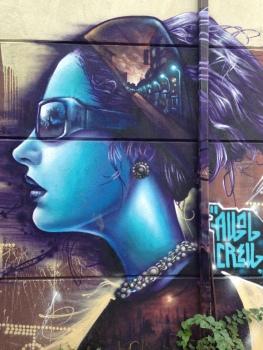 Kesington Market street art