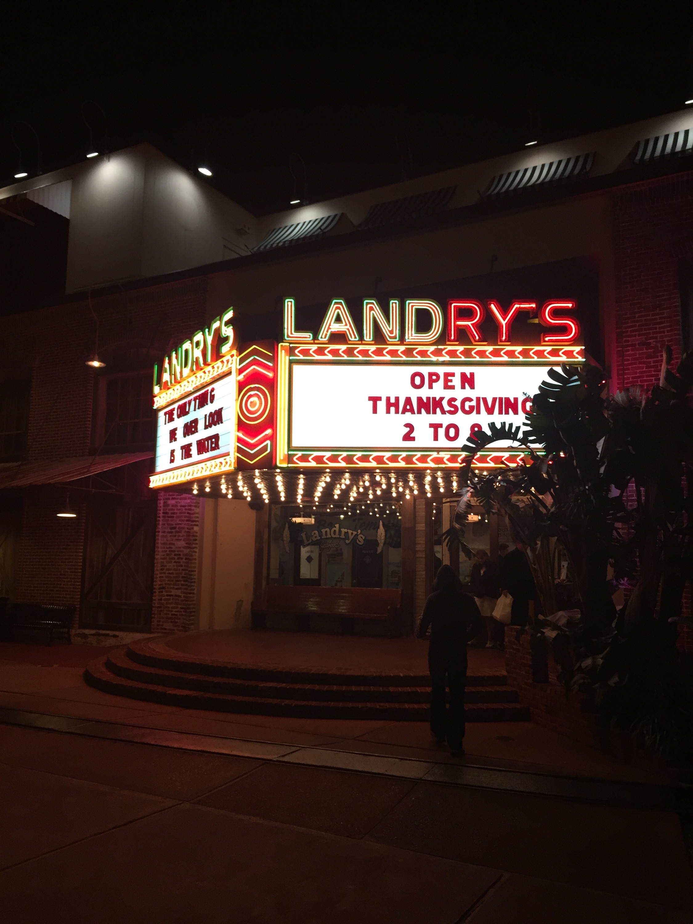 Houston Seafood Restaurant Landry's at Kemah Boardwalk