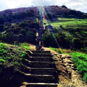 Baldwin Hills Scenic Overview Stairs