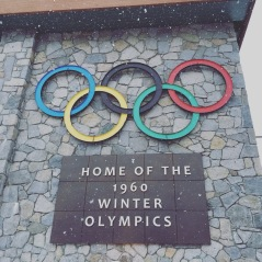 Winter Olympics 1960 at Squaw Valley Ski Lake Tahoe