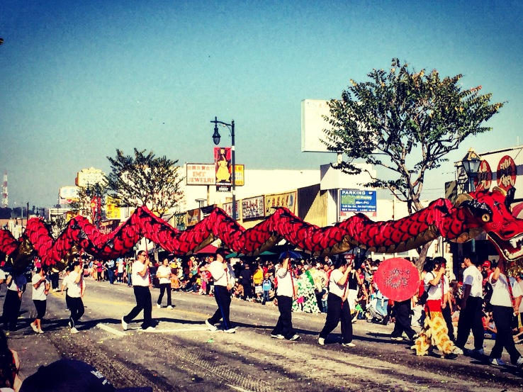 Dragon Parade Los Angeles