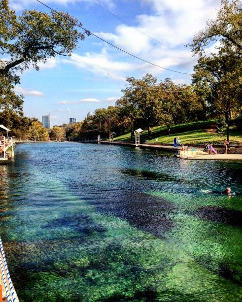 Austin Barton Spring Pool