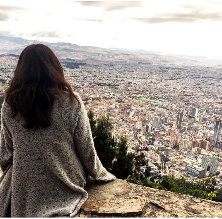 Bogota from Monserrtae