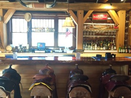 Blue Bell Lodge Saddle Bar