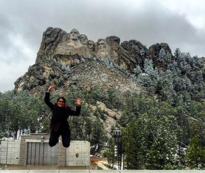 Mt Rushmore Jump