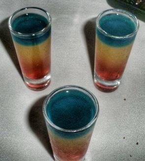 Rainbow shot