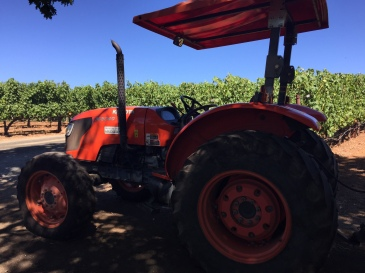 Sonoma Benziger Tractor Tour