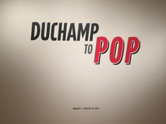Duchamp to POP