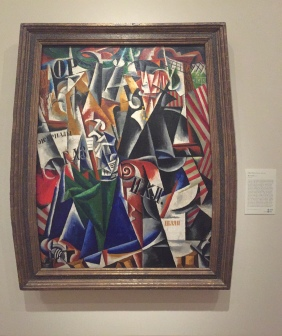 The Traveler by Liubov Popova