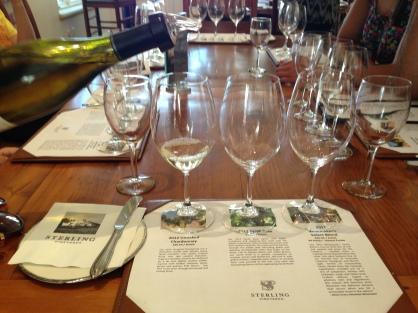 Napa sterling vineyards