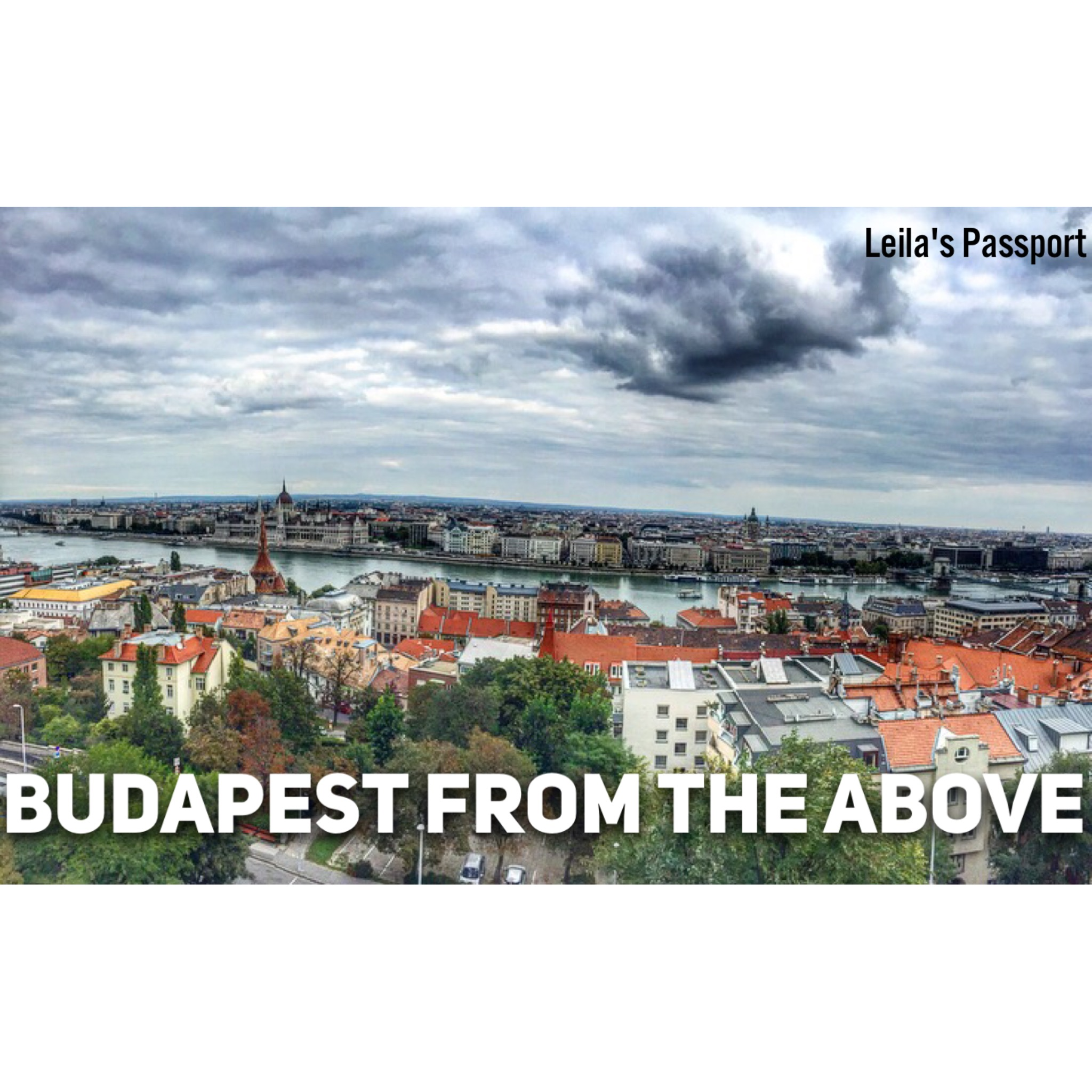 Budapest From the above