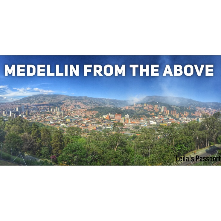 Medellin From the above