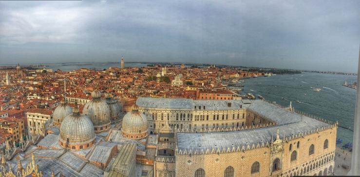 Venice from the Campanile Tower
