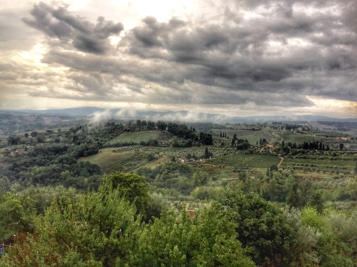 San Gimignano Winery View