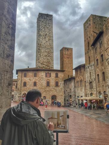 San Gimignano Pizza del Duomo
