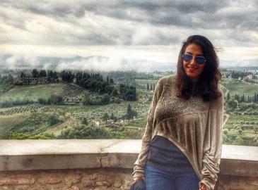 San Gimignano Winery View
