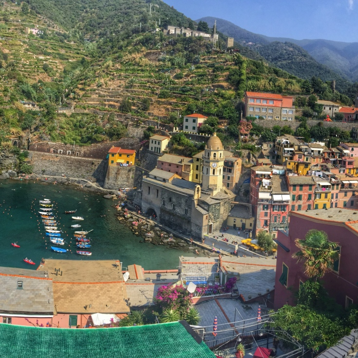 Vernazza from Doris Castle