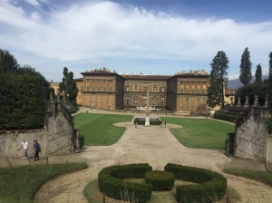 Florence Pitti Palace and Boboli Garden