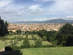 Florence from Boboli Garden