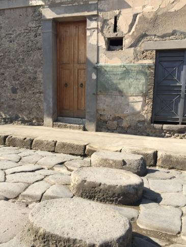 Pompeii - Pedestrian Crosswalk