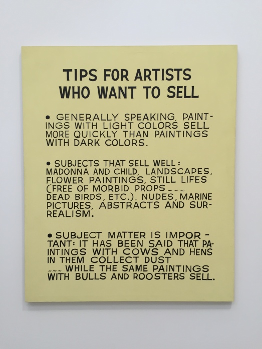 John Baldessari Tips for Artists Who Want to Sell