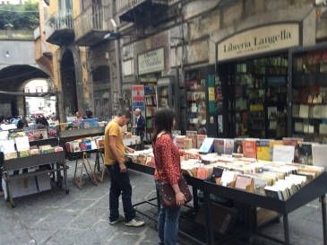 Naples Booksellers Street
