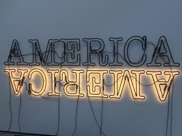 Glenn Ligon Double America 2