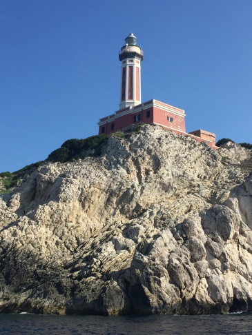Capri Lighthouse at Punta Carena