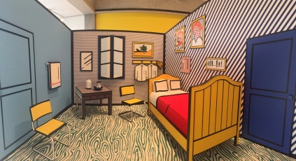 Skirball Bedroom Roy Lichtenstein