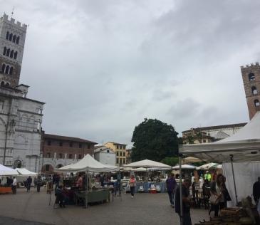 Lucca Sunday Flea Market