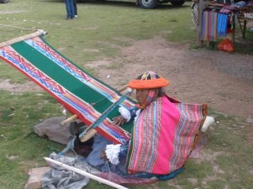 Peru's weaving Woman