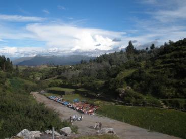 View from Tambomachay