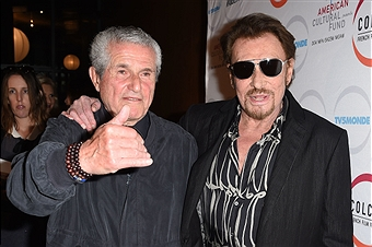 Johnny and Claude Lelouch