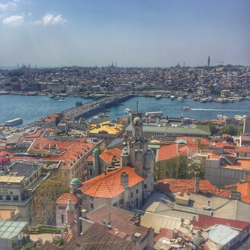 View from Galata Tower