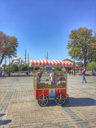 Simit Bread Cart