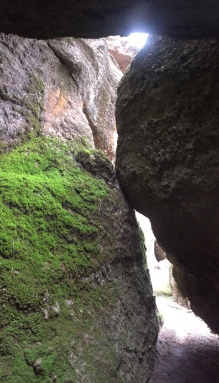 Pinnacles balconies cave