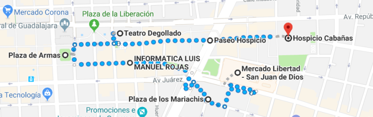 GDL walking guide